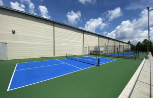 Pickleball courts in Brentwood